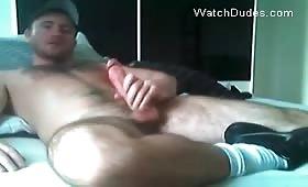 Руски гей показва задника си на секс камерата като мастурбира