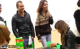 Секс троика с руски студентки
