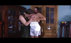 Руски секси тиин прави минети